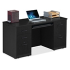 """Double Pedestal Credenza with Keyboard Tray - 59.5""""W, 14766"""