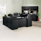 Complete L-Desk Office Suite with Locking Files, CD08530