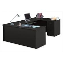 "Compact U-Desk - 60""W, 14776"