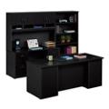 Executive Desk and Locking Storage Wall Set, 14780