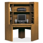 Orchard Hills Corner Computer Desk with Hutch, CD03644
