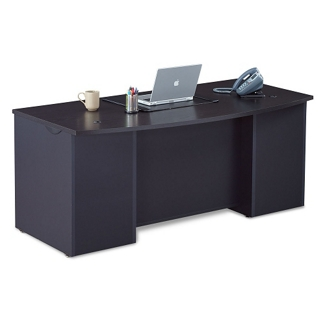 Executive Bowfront Desk Shell, 15437