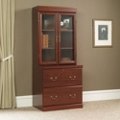 Lateral File with Glass Door Hutch, 30851