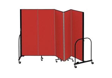 """5 Panel Partition 9'5""""w x 5'h, 21480"""