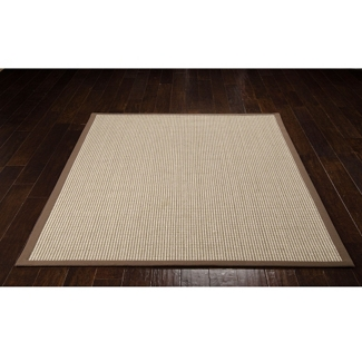 "kathy ireland by Nourison Two-Tone Grid Area Rug 5'W x 7'6""D, 82244"