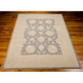 "kathy ireland by Nourison Oversized Border Area Rug 5'6""W x 7'5""D, 82242"