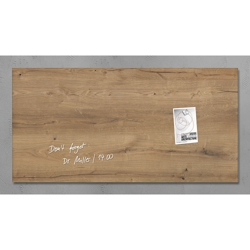 "36""W x 18""H Magnetic Glass Board, 80610"
