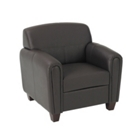 Faux Leather Club Chair, CD03213