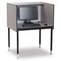 Adjustable Height Starter Computer Carrel, 13742