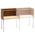 Fixed Height Modular Carrel- Adder, 13750