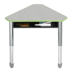 Diamond Adjustable Height Student Desk with Book Box, 13736