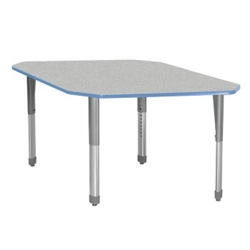 Diamond Adjustable Height Two Person Student Desk, 13739