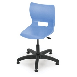 Adjustable Poly Chair with Glides, 50009