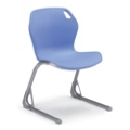 Modern Plastic Sled Base Stack Chair, 51514