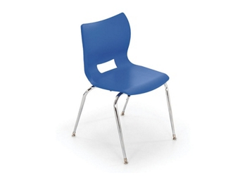 "Poly Shell Stack Chair 14""H, 51631"
