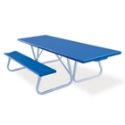 Aluminum Picnic Table with Handicap Access - 8 ft, 85814