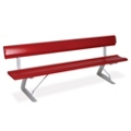 Portable Bench with Backrest - 8 ft, 85824