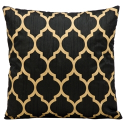 """kathy ireland by Nourison Moroccan Pattern Accent Pillow - 18""""W x 18""""H, 82170"""