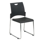 Sled Base Plastic Stack Chair, CD03274