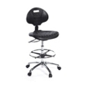 Polyurethane Lab Stool with Foot Ring, 25896