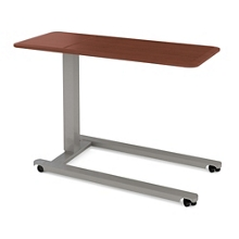"""Adjustable Height Oversized Overbed Table - 42""""W , 26078"""