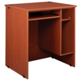 "Circulation Desk with CPU Storage - 36""W x 30""D, 10024"