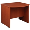"Circulation Desk with Bow Front ADA Counter - 33""H, 10025"