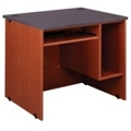 "Circulation Desk with CPU Storage - 36""W x 30""D, 10049"