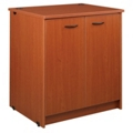 "Three Shelf Doored Library Cabinet - 40""H, 31077"