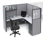 Complete Cube with Corner Desk, 20981