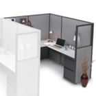 L Shaped Workstation Right Return, 20986