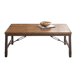"Wood Top Coffee Table - 48""W, 46268"