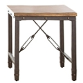"Wood Top End Table - 23""W, 46269"