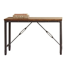 "Wood Top Sofa Table - 48""W, 46270"