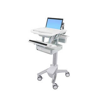 Laptop Cart with Keyboard Tray and One Drawer, 26314