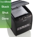 Stacking Cross Cut 5 Gallon Paper Shredder, 87462