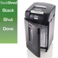 Stacking Super Cross Cut 31 Gallon Paper Shredder, 87795