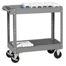 "Two Tray Utility Cart - 16""W x 30""D, 31868"