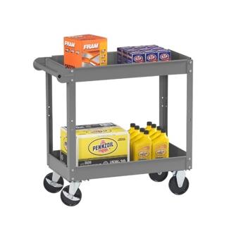"Two Tray Utility Cart - 36""W x 24""D, 31869"