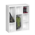 """40""""H Steel Cubby Cabinet, 31872"""
