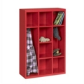 "52""H Steel Cubby Cabinet, 31873"