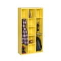 "66""H Steel Cubby Cabinet, 31874"