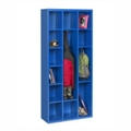 "78""H Steel Cubby Cabinet, 31875"
