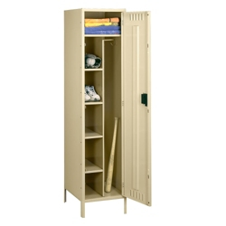"Combination Locker with Legs - 24""W, 36008"
