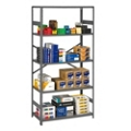 "Open Steel Shelving Unit - 36""W x 24""D x 75""H, 36429"