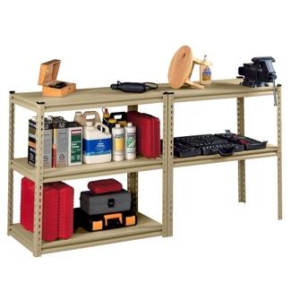 "Convertible Shelving Unit Work Bench - 36.5""W x 18.5""D x 72""H, 36434"