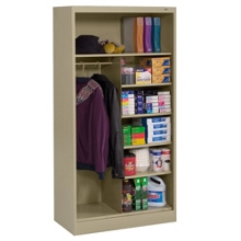 "Open Style Combination Cabinet - 72""H, 36436"