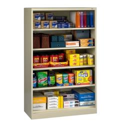 "Open Style Storage Cabinet - 48""W x 18""D x 78""H, 36438"