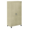"Mobile Six Shelf Storage Cabinet - 72.75""H, 36448"