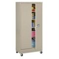 "Mobile Storage Cabinet with Keypad Lock - 78.75""H, 36450"